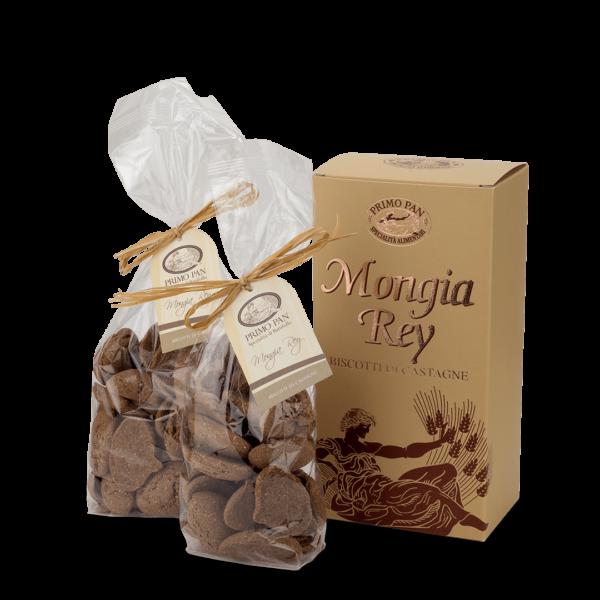 Mongia Rey Primo pan biscotti di castagne